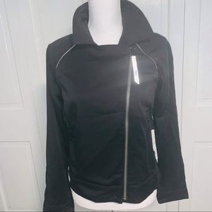 Lululemon Asymmetrical Black Full Zip Up Jacket 4